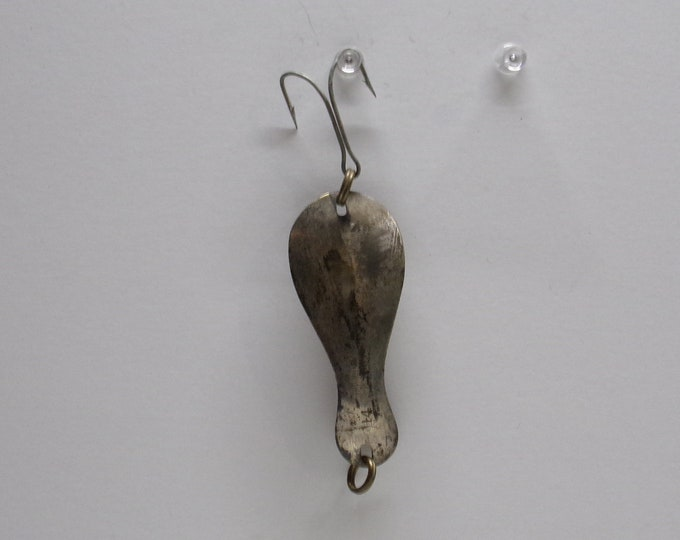 Vintage min nix no 14 pike muskie trout fishing spoon lure made in the 1950s1960s