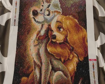 Lady And Tramp Wall Etsy