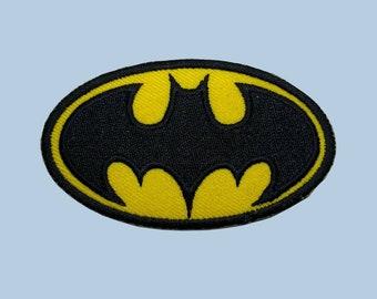 """3.5/"""" Batman comics super hero crashhh set fabric applique iron on character"""