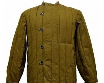 Fufaika Soviet Jacket Army USSR Winter Jacket Russian Telogreika cotton batting lining 1970-s size Small 46 US 36, 38, 40 50 European 48