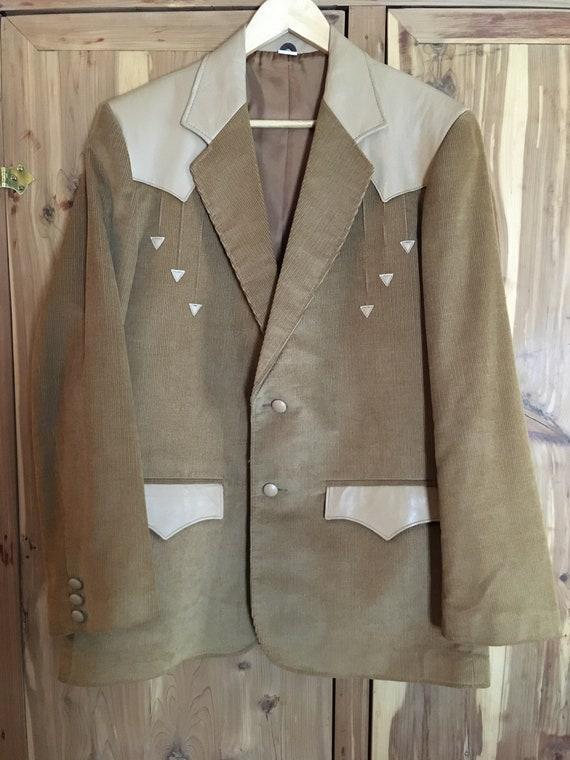 Vintage Corduroy Pioneer Wear Western Jacket