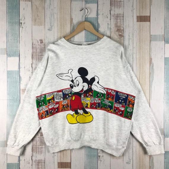 Vintage Mickey Mouse Sweatshirt Pullover