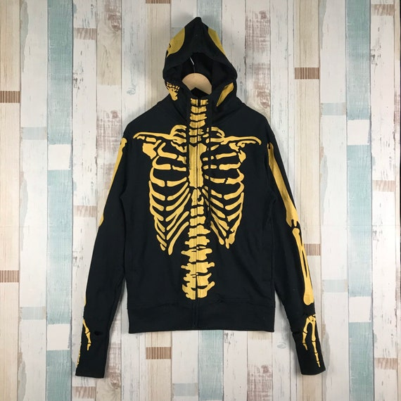 Skeleton Hoodie Like Kapital Kountry #kapital #jap