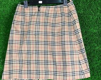 Vintage Burberry Skirt Nova Check #designer #fashion #luxury #vintage #burberry