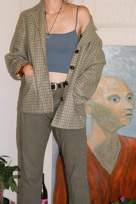 "laura biagiotti ""bear's bazaar"" lined woolen blaze"