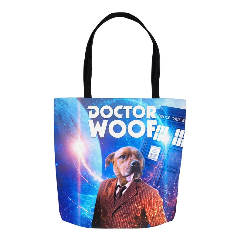 Who Dr Male Personalized Tote Bag