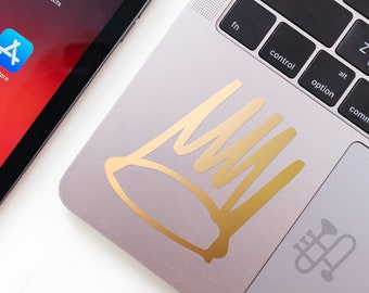 J Cole Gold Crown Born Sinner Vinyl Sticker Decal World Car Truck Auto Glass Window Wall Art
