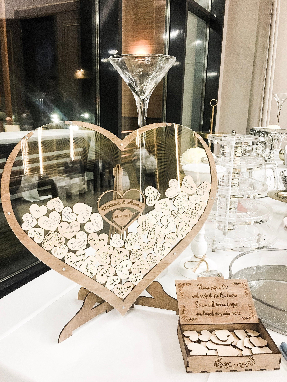 WeddingTree G/ästebuch Hochzeit Edel als G/ästebuch Silberhochzeit und G/ästebuch Goldene Hochzeit Aquarell Romantisches Hochzeit G/ästebuch