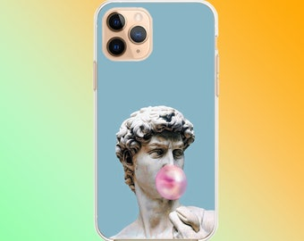 AESTHETIC STATUE OF DAVID HEAD SKYBLUE IPHONE 7 COVER