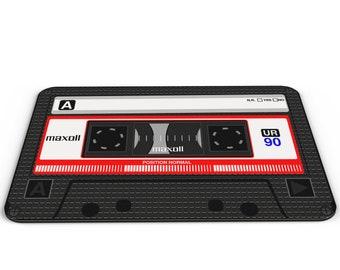 Cassette Tape Music Novelty Gift PC Mousemat