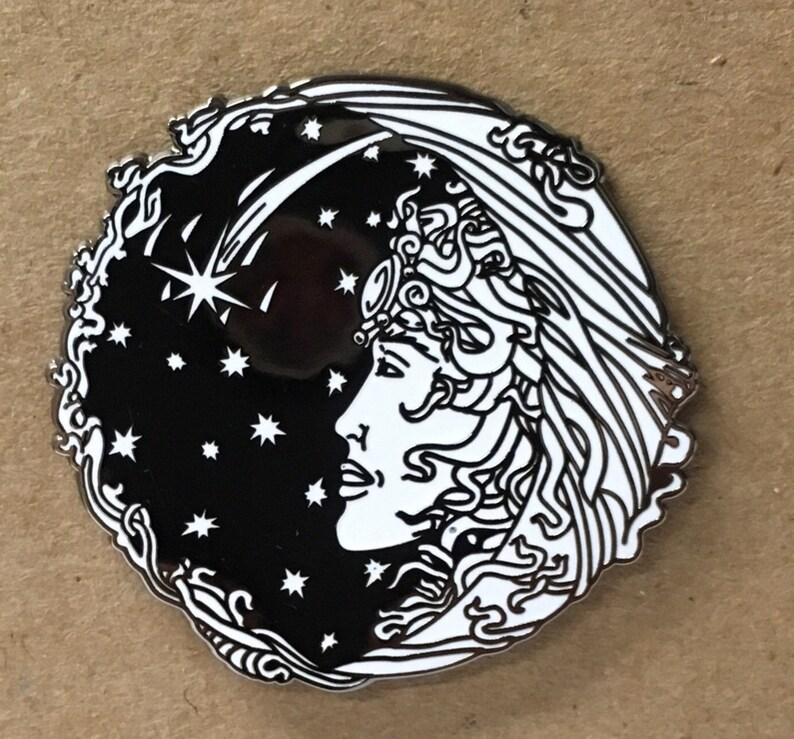 The Moon Lady Logo Pin image 0