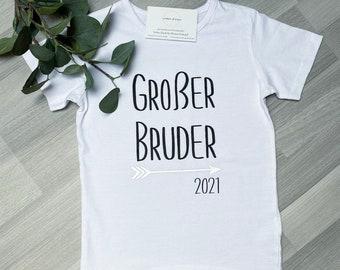 T-Shirt Big Brother | Big Brother 2021 2022 | Pregnancy announcement | T-shirt pregnancy announce | JomaroDesign