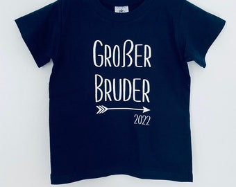 T-Shirt Big Brother | Pregnancy announcement | Big Brother 2021 2022 | Children's T-Shirt | JomaroDesign