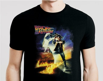 Back To The Future Poster Adult Tank Top T-shirt