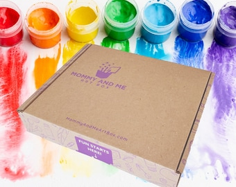 Kids Art Kit | Earth Crafts | Mommy & Me Art Box | Preschool Art, Crafts and Science Subscription | Montessori | Kids Hands-on-Learning
