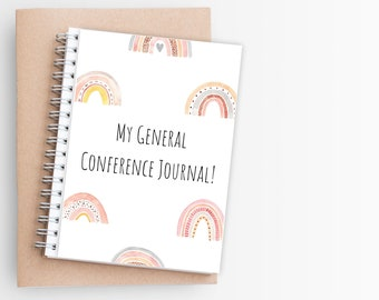 Children General Conference Journal. LDS Printable Journal. Kids LDS Journal. General Conference Notebook. Latter Day Saints. Primary.