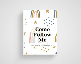 Come Follow Me Doctrine & Covenants Journal. 2021 Reading schedule. LDS Printable. Instant Download.
