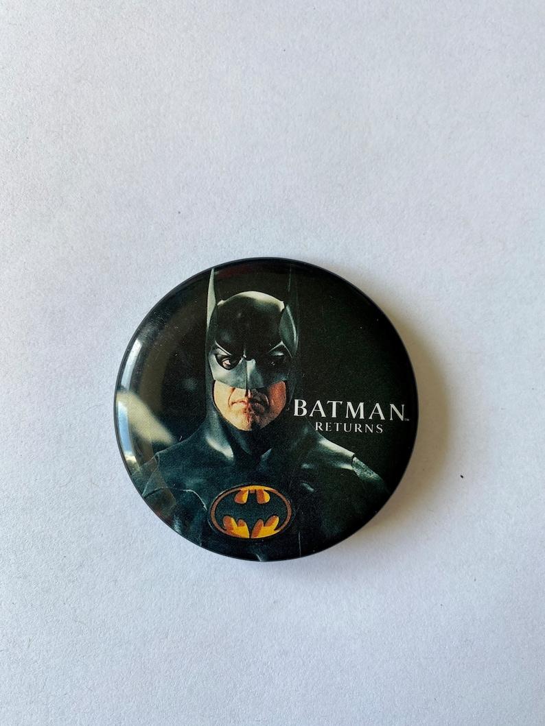 Vintage 90\u2019s Batman Returns Pinback Button