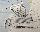 James Webb Space Telescope Sticker