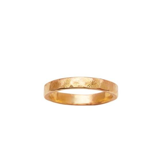 UNISEX 18K GOLD RING