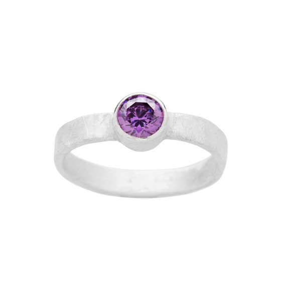STARSEED AMETHYST RING
