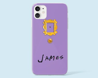 Friends iPhone 11 Pro Case Friends Door iPhone 12 Pro Case TV Show iPhone XS Case TV Series iPhone 11 Case iPhone 7 Plus Case iPhone X case