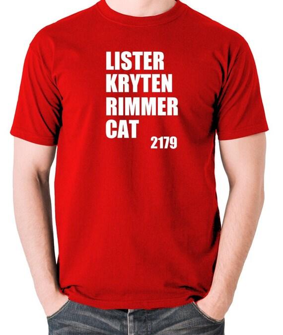 Smeg Head Kryton T-Shirt Cotton Dave Lister Arnold Rimmer