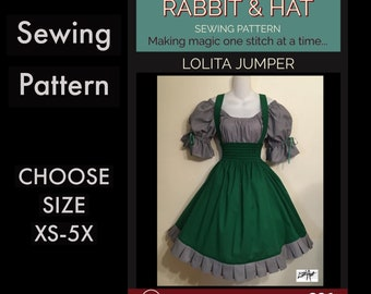 LOLITA JUMPER 321 New Rabbit and Hat Sewing Pattern  Step by Step Photo Instructions