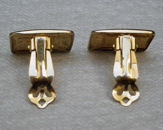 Lanvin signed French Clip Earrings Vintage 1970's… - image 6