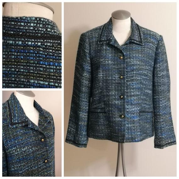 A Sweet 90's Women's Vintage Tweed Box or Chanel J