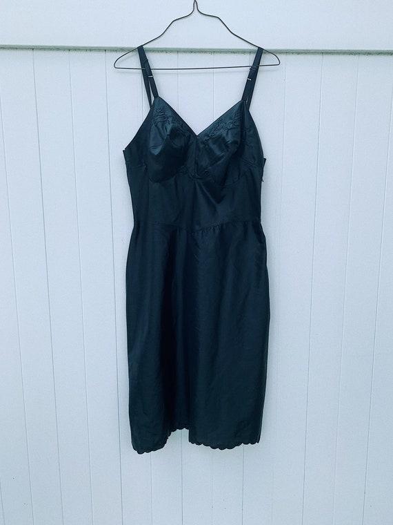 Vintage 50's Slip Dress/Full Slip Dress/50's Vinta