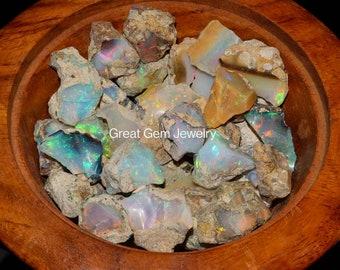 Raw Opal Crystal, Large Size Ethiopian Opal Rough, Welo Opal, Bigger Size Opal Rough, Top Quality fire flash opal