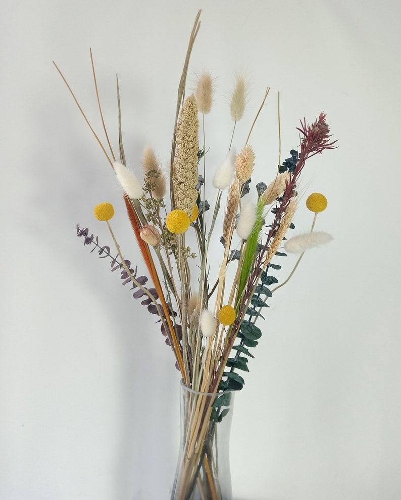 Ghy Decor Dried Flower Bouquet Real Natural Mixed Flower Etsy