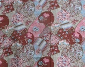 2 1 2 Yards 70 39 s Crazy Quilt Inspired Fabric