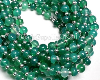 Green onex shaded micro faceted rondelle 3-4mm   140 pieces AAA quality