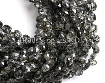 Natural Dot Rutile Quartz Faceted Pear Shape briolette beads Jewelry making BH#975 8-29 mm Rare Huge Size* Black Dot Rutile Quartz Beads