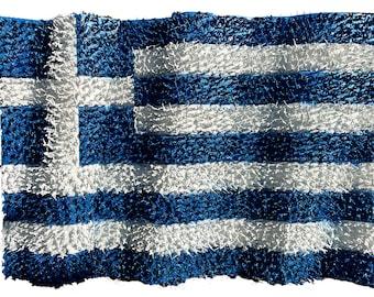 3D Greek Flag