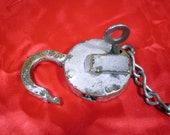 Ames Sword Company - UP Brass Railroad Lock - Patent Sept. 19, 1882