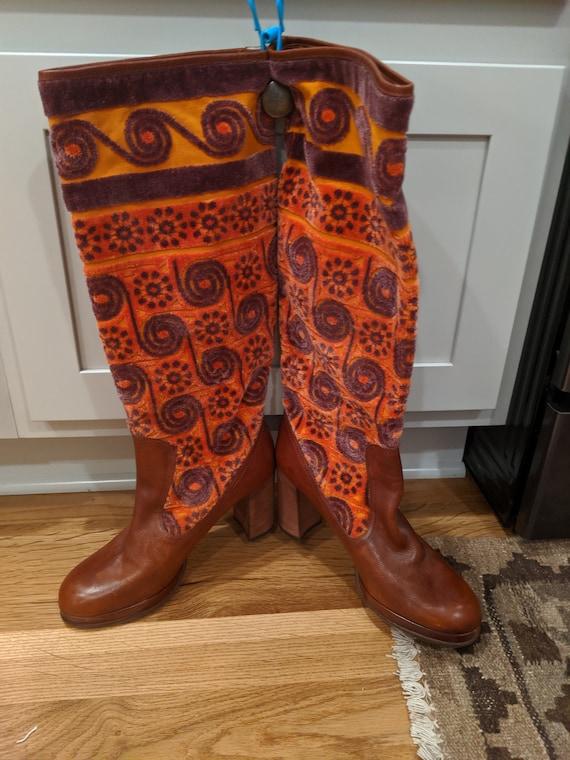 Vintag Anna Sui Boots