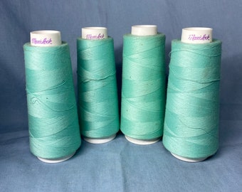Sea Blue Sewing Machine Thread 120 Polyester Ind Overlocking 5000 Yards