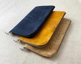 Natural Cork Knitting Notions Case - Zipper Pouch