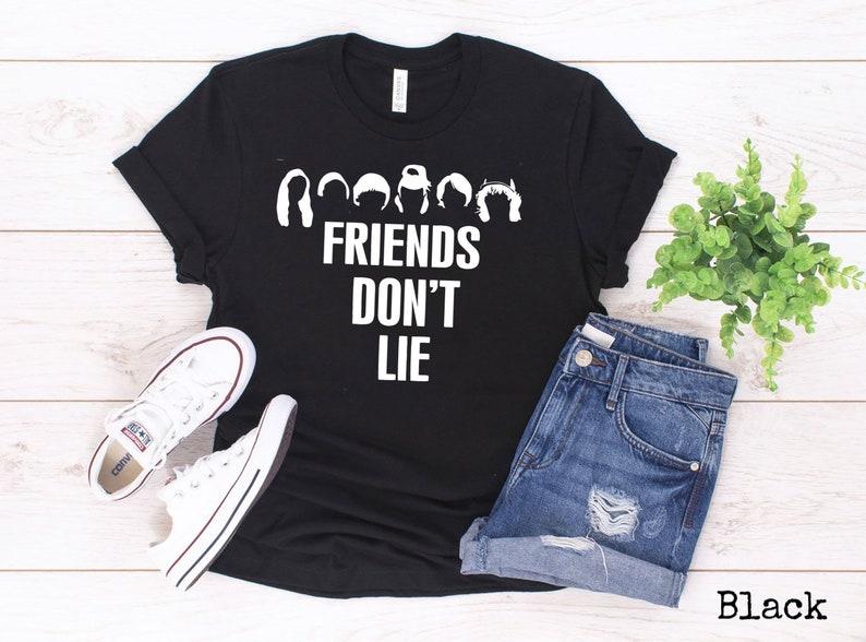 Freunde nicht lügen Unisex Tshirt stecken in der UPSIDE   Etsy