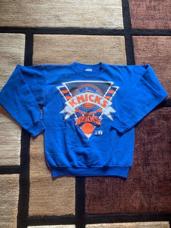 Vintage 90's New York Knicks Sweatshirt Men Large