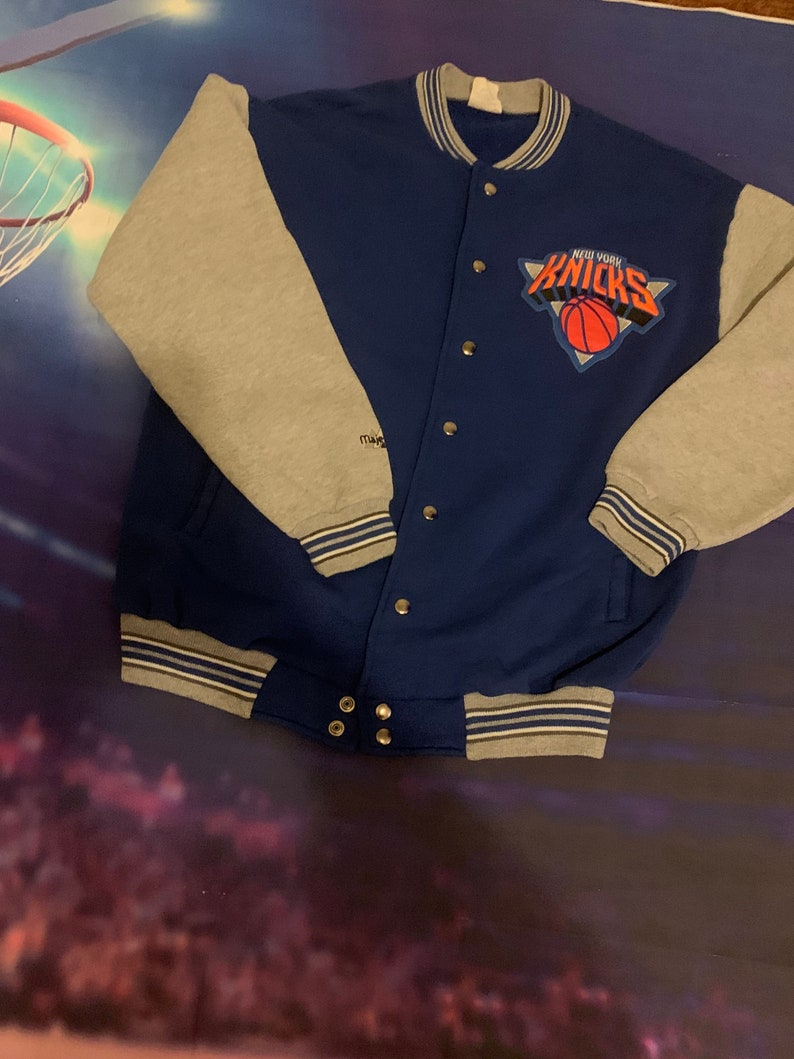 Vintage 90\u2019s Knicks Majestic Jacket Men\u2019s XL