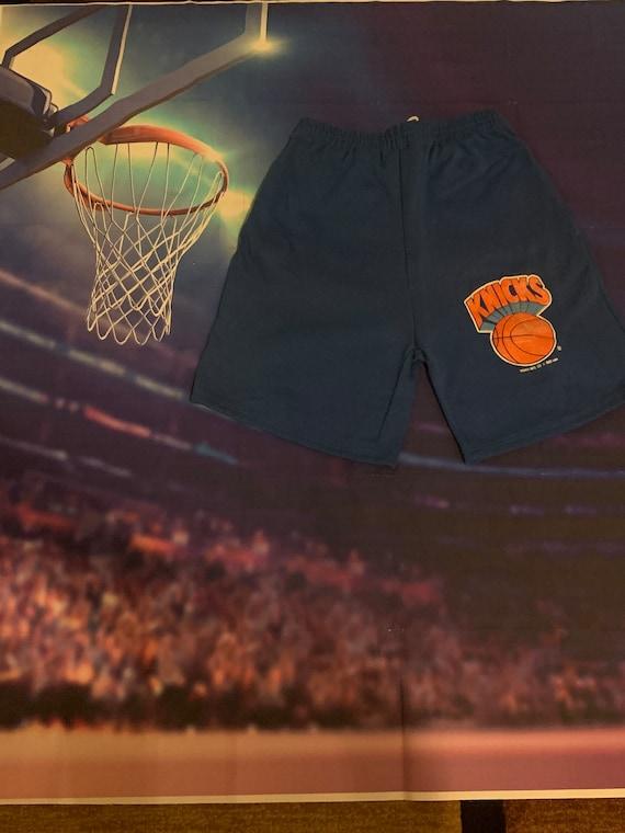 Vintage 90's Knicks Shorts Men's Large