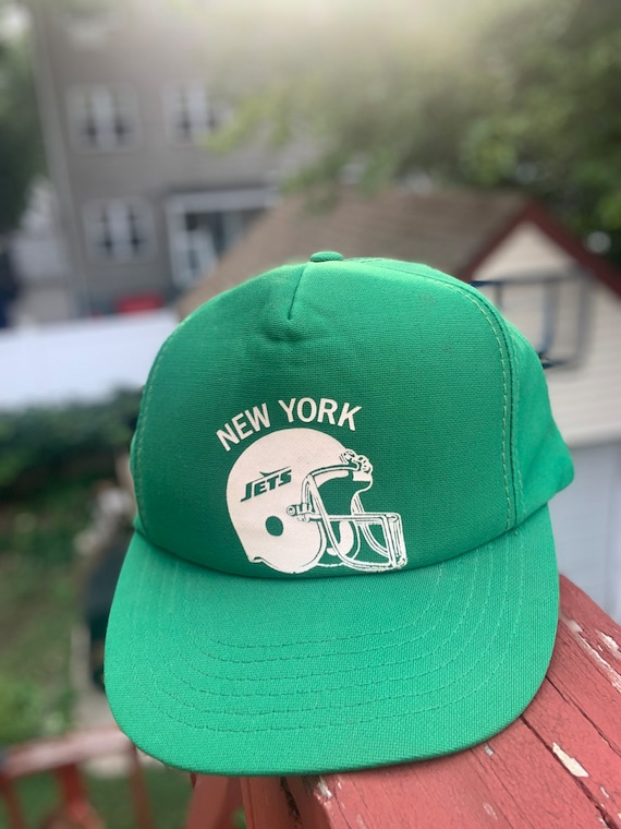 Vintage 80's New York Jets Trucker SnapBack