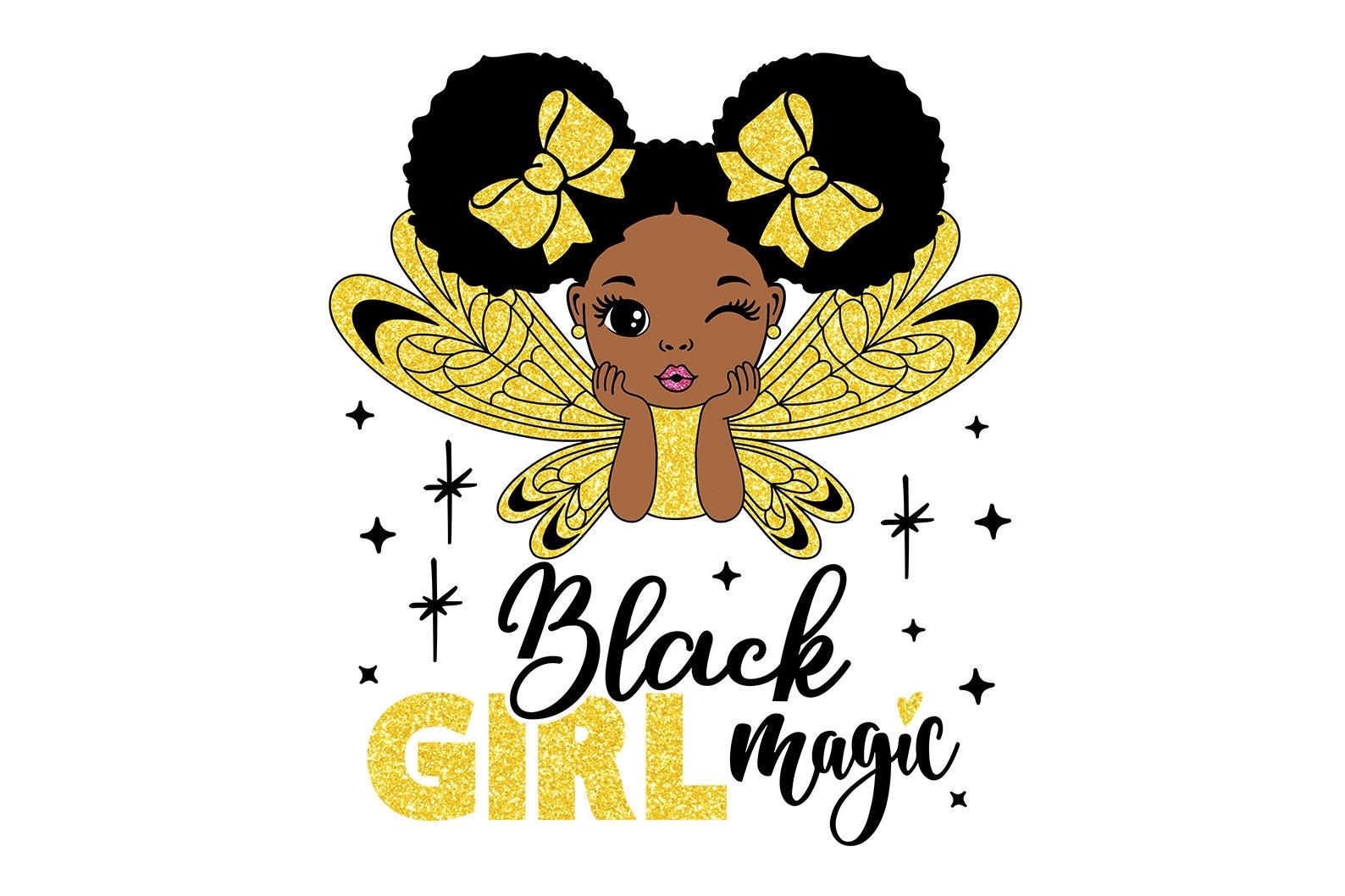 Schwarzes Magie Mädchen