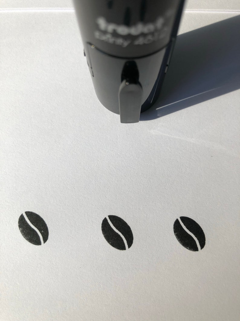 Coffee Bean Self Inking Stamp