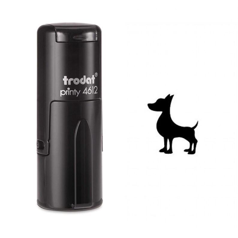 Alert dog Self Inking Stamp