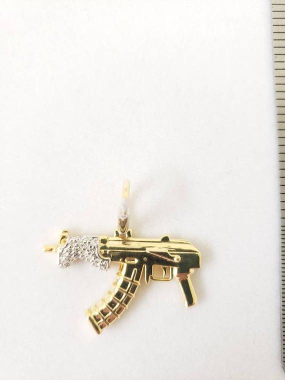 Ak47 draco diamond pendant